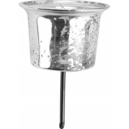 Ljushållare silver