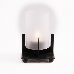Lantern with glas