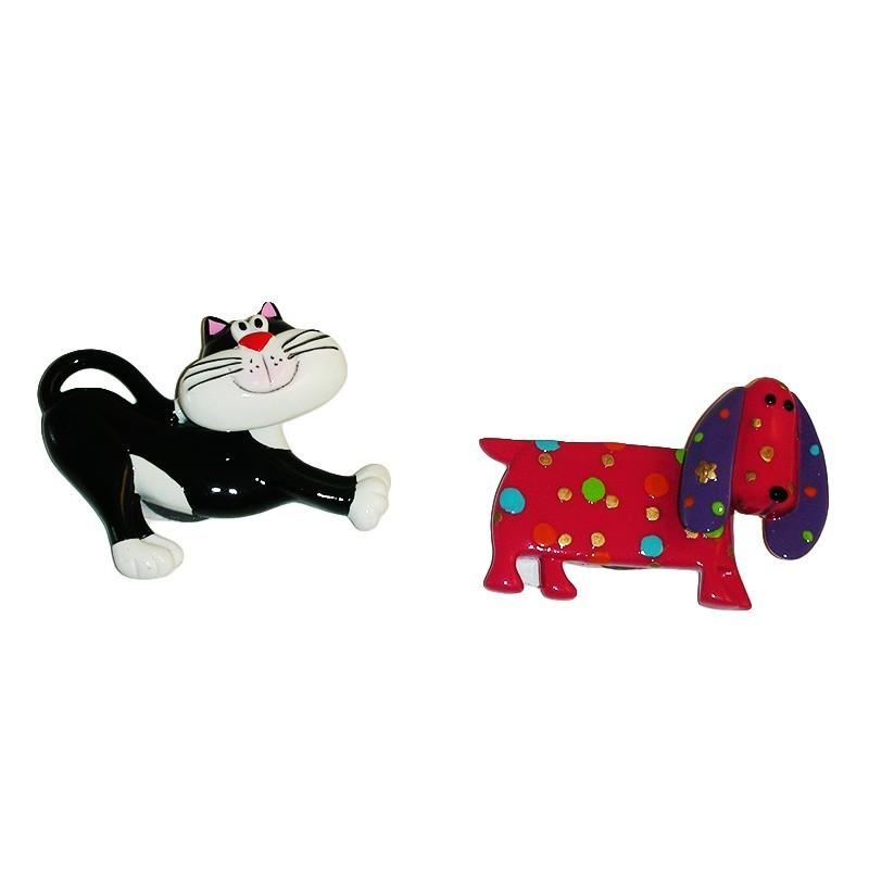 magnet hund och katt