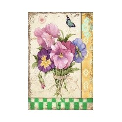 Platskylt blomma