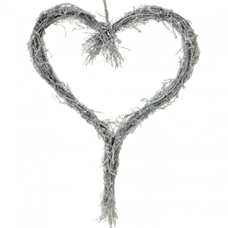 Hjärta glitter