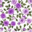 Diner napkins Rose purple