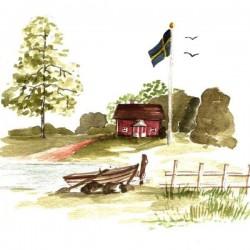 Matservett Sommarhus