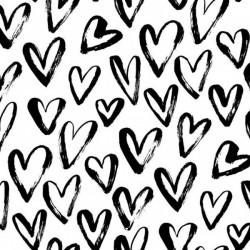 Kaffeservett Hjärtan