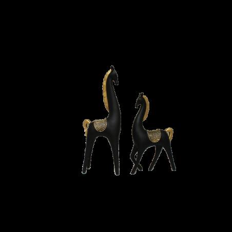 Hästarna Dunev i 2 set